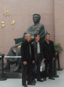 Lu Xun standbeeld